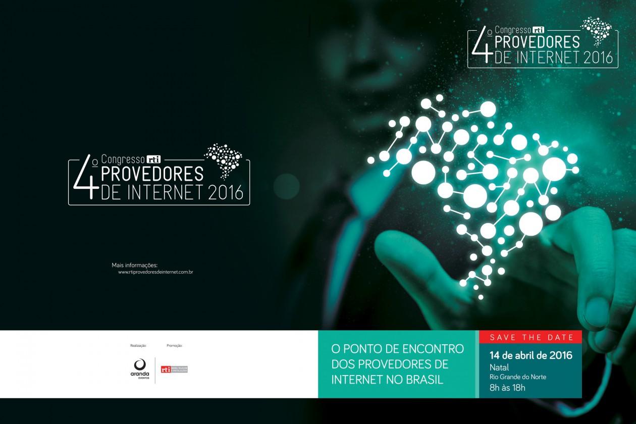 4º Congresso RTI Provedores de Internet acontece na próxima semana em Natal