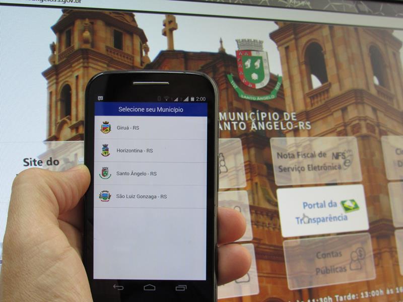 Em Santo Ângelo(RS), aplicativo permitirá maior integração entre população e a prefeitura