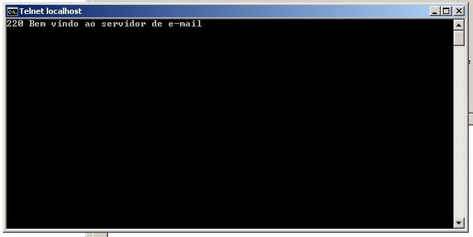Testando servidor SMTP HmailServer