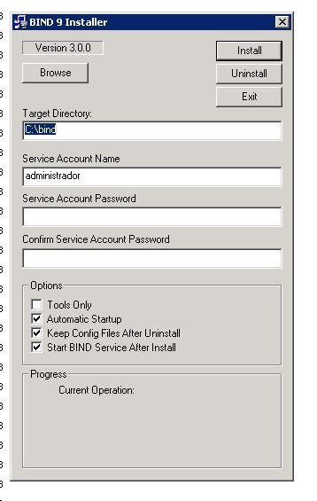 Instalação BIND DNS Resolver
