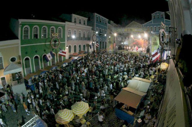 Sistema de Reconhecimento Facial no Carnaval 2020 (Foto: Reprodução/ Twitter Governo da Bahia)